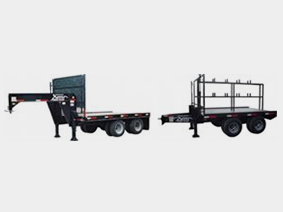 Kerr cement form trailer