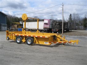 self loading gas pipeline trailer