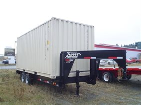 Kerr container chassis trailer