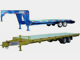 Heavy Duty Deck-over trailers
