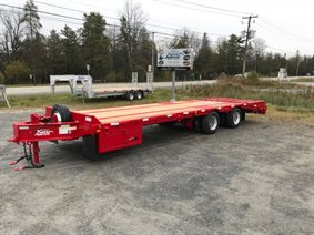 HD air brake trailer