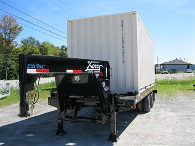 Shipping Container Trailer >> Kerr Trailers Trailer Manufacturer Full Tilting Bed Trailer